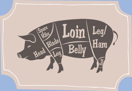 John Sheppard pork cuts